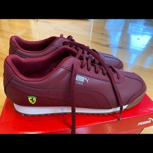 Men's Puma Scuderia Ferrari Roma Sneakers 7,5 NEW